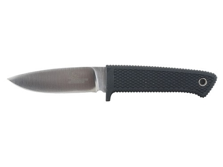 "Cold Steel Pendleton Mini Hunter Knife 3"" VG-1 Stainless Steel Drop Point Blade Kraton Handle Black with Secure-Ex Sheath"
