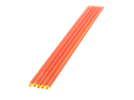 "TRUGLO Replacement Fiber Optic Rod 5.5"" x .100"" Dual Color Red/Green Package of 5"