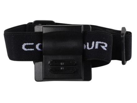 Contour Action Camera Headband Mount for All Contour Models Black