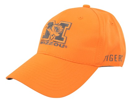 Outdoor Cap Collegiate Series Logo Cap University of Missouri Cotton Blaze Orange