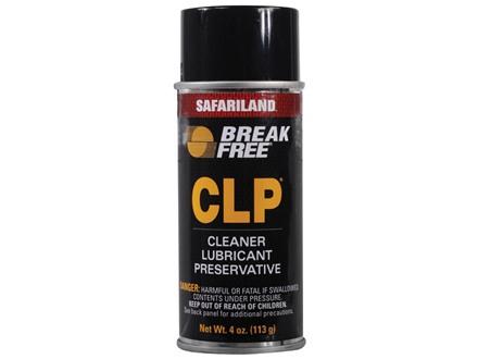 Break-Free CLP (Bore Cleaning Solvent, Lubricant, Rust Preventative) 4 oz Aerosol