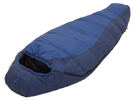 ALPS Blue Springs Mummy Mummy Sleeping Bag Polyester Blue and Navy