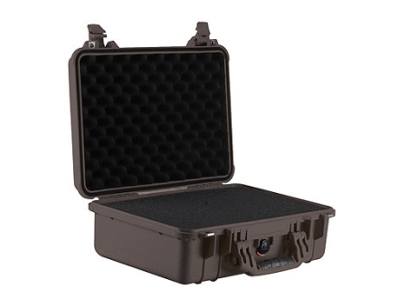 Pelican 1500 Pistol Gun Case with Pre-Scored Foam Insert Polymer