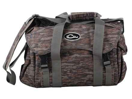 Drake Large Floating Blind Bag Nylon Mossy Oak Bottomland Camo