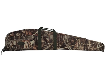 "Boyt Floating Scoped Rifle Gun Case 50"" with Pocket Nylon Advantage Max-4 Camo"
