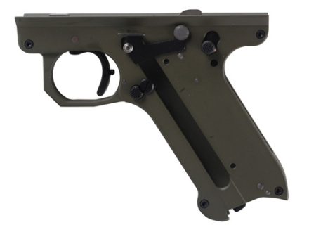 Volquartsen Lightweight Replacement Frame Assembled with Volquartsen Internal Parts Ruger Mark II, Mark III Aluminum OD Green
