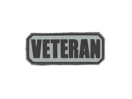 "Maxpedition VETERAN PVC Patch 2.5"" x 1"""