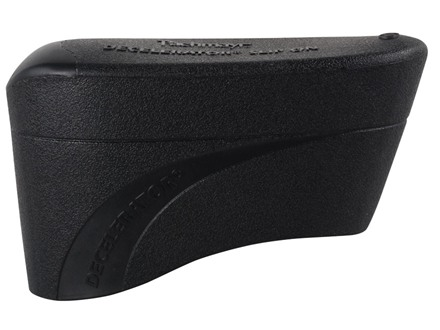 "Pachmayr Decelerator Recoil Pad Slip-On fits 5"" to 5-3/16"" High x 1-5/8"" Wide x 3/4"" Thick Rubber Black Medium"