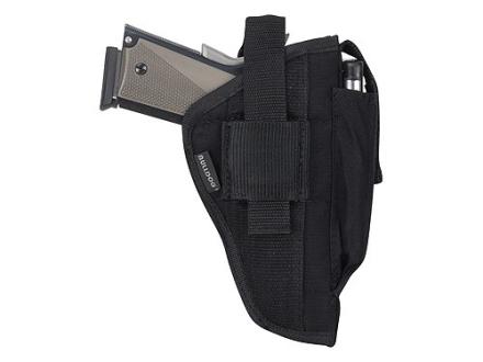 "Bulldog Extreme Belt and Clip Holster Ambidextrous Colt Diamondback, Ruger Security 6, GP100, S&W K, L, N Frames 6"" Barrel Nylon Black"