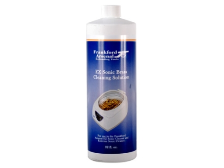 Frankford Arsenal Ultrasonic Brass Cleaning Solution 32 oz Liquid