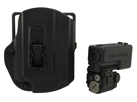 Viridian C5L-R Red Laser Sight 100 Lumen Tactical Flashlight with TacLoc ECR Holster for Springfield XD/XDM Black