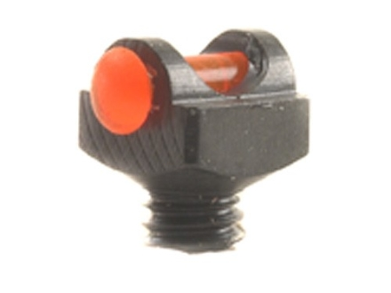 "Marble's Expert Shotgun Front Bead Sight .094"" Diameter 5-40 Thread 3/32"" Shank Fiber Optic Orange"