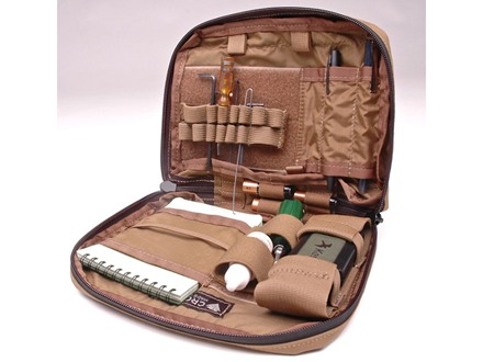 CrossTac Compact Long Range Data Organizer Pack Nylon Coyote