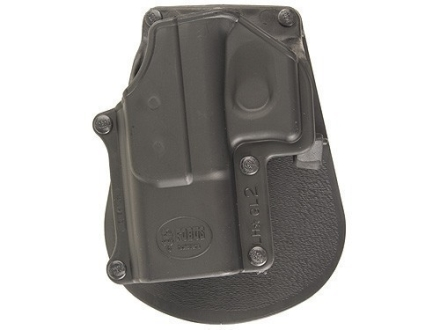 Fobus Paddle Holster Left Hand Glock 17, 19, 22, 23, 31, 32, 34, 35 Polymer Black