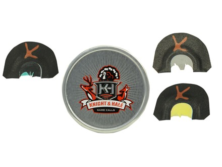 Knight & Hale Bad Company 3-Pack Diaphragm Turkey Call Combo