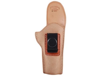 El Paso Saddlery EZ Carry Inside the Waistband Holster Right Hand 1911 Government Leather Natural
