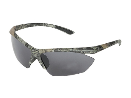 Allen Shooting Glasses Mossy Oak Break-Up Camo Frame Smoke Lens