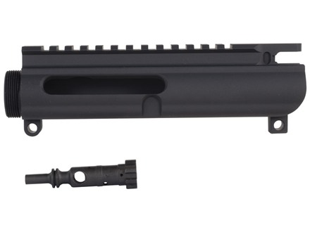 DPMS Upper Receiver Stripped AR-15 Lo-Pro Flat-Top Left Hand with Stripped Left Hand Bolt Matte