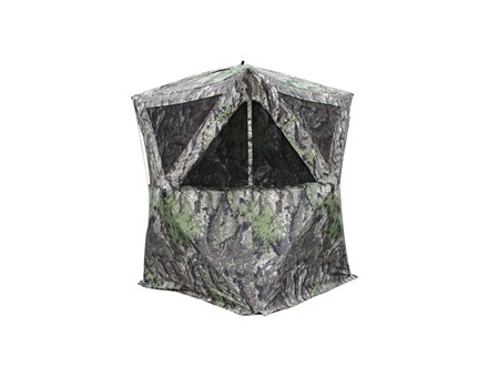 "Primos The Club XL Ground Blind 58"" x 58"" x 72"" Polyester Ground Swat Grey Camo"