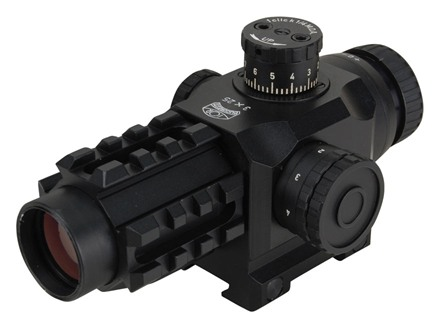 Valdada IOR Tactical Rifle Scope 30mm Tube 3x 25mm Illuminated CQB Reticle Matte