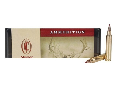 Nosler Custom Ammunition 204 Ruger 40 Grain Ballistic Tip Varmint Box of 20