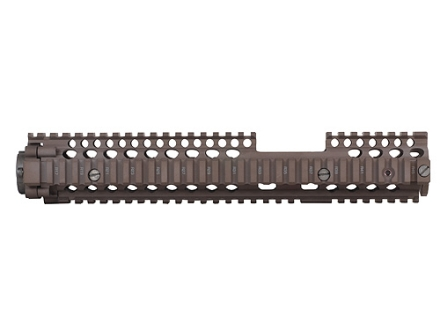 Daniel Defense M4A1 FSP RIS II Free Float Tube Handguard Quad Rail AR-15 Extended Carbine Length Aluminum Flat Dark Earth