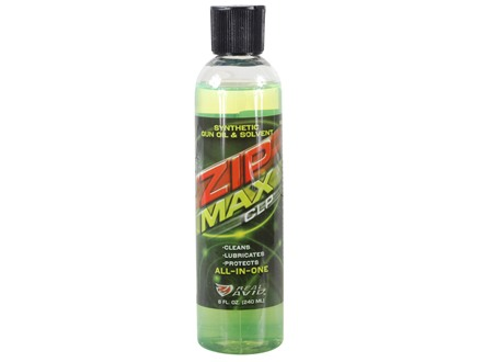 Real Avid ZipMax Synthetic CLP (Bore Cleaning Solvent, Lubricant, Protectant) 8 oz.