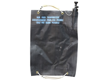 Military Surplus New Condition Swiss 20L Water Bag Black