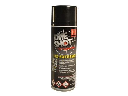 Hornady One Shot TAP-HD Extreme Gun Cleaner, Conditioner and Dry Lube 5-1/2 oz Aerosol