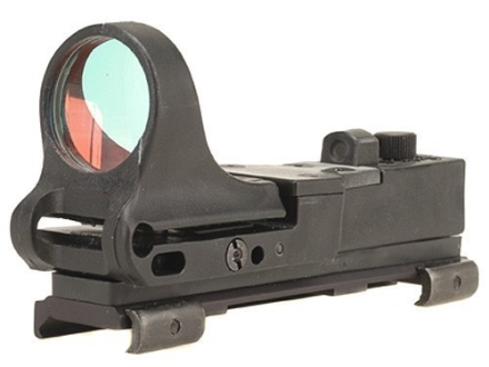C-More Tactical Railway Reflex Sight 8 MOA Red Dot with Click Switch and Integral Picatinny Mount Matte