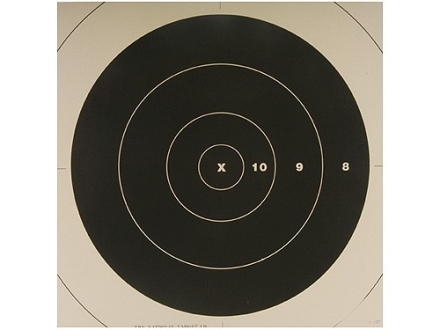 NRA Official High Power Rifle Targets Repair Center SR-42C 200 Yard Rapid Fire Paper Package of 100