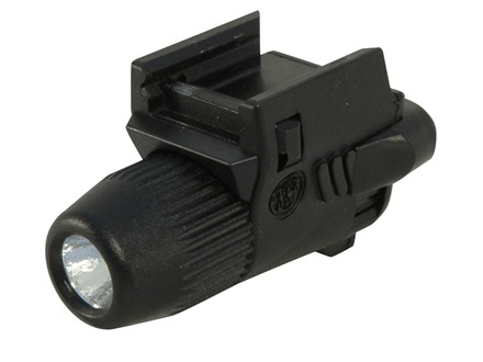 Smith & Wesson Micro 90 Tactical Weapon Mounted Flashlight White LED Polymer Black