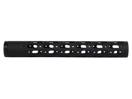 Nordic Components Small Diameter Free Float Tube Handguard for Rimfire or Blowback AR-15 's Only Rifle Length Aluminum Black