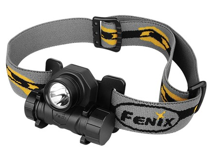 Fenix HL21 Headlamp White LED Aluminum and Polymer Black