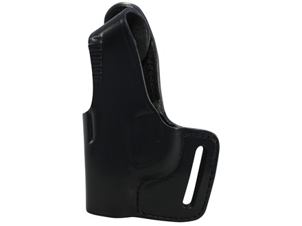 Bianchi 75 Venom Outside the Waistband Holster Left Hand Springfield XD-S Leather Black