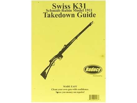 "Radocy Takedown Guide ""Swiss K31"""