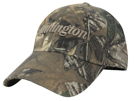 Remington Camo Logo Cap Cotton Realtree Xtra Camo