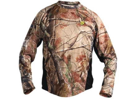 ScentBlocker Men's 8th Layer Base Layer Shirt Long Sleeve Polyester