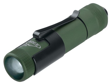 Gerber Infinity Ultra Task Flashlight LED with 1 AA Battery Aluminum Green