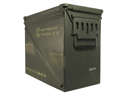 "Military Surplus Ammo Can 30mm 17"" x 8-3/4"" x 14"""