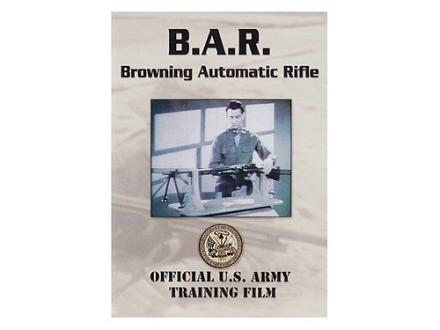 "Gun Video ""B.A.R. Browning Automatic Rifle"" DVD"