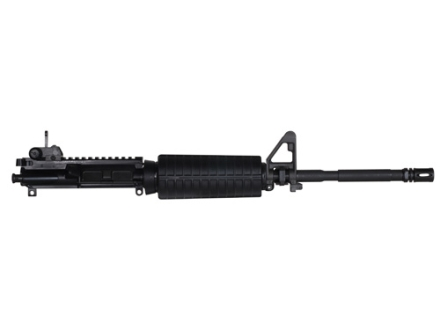 "Colt AR-15 Flat-Top Upper Assembly 5.56x45mm NATO 1 in 7"" Twist 16"" Barrel Chrome Lined, Flip Up Rear Sight, Flash Hider"