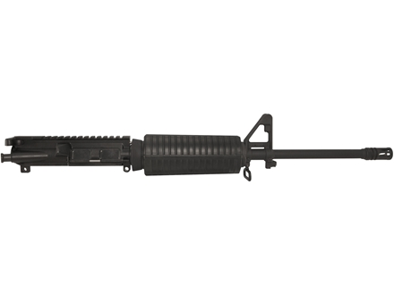 "DPMS AR-15 A3 Flat-Top Upper Assembly 5.56x45mm NATO 1 in 9"" Twist 16"" Light Contour Barrel Chrome Moly Matte with GlacierGuard Handguard, A2 Front Sight, Flash Hider"