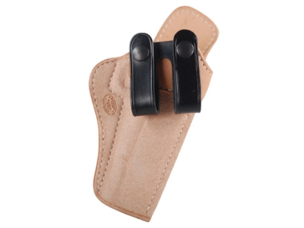 El Paso Saddlery Summer Cruiser Inside the Waistband Holster Right Hand 1911 Government Leather Natural and Black