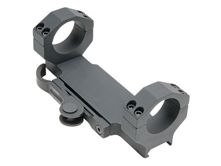 GG&G Accucam Quick-Detach Scope Mount Picatinny-Style with Integral 30mm Rings for Bolt Actions Matte