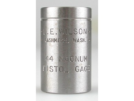 L.E. Wilson Max Cartridge Gage 44 Remington Magnum
