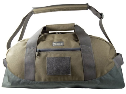 Maxpedition Baron Load-Out Duffel Bag Small Nylon Khaki and Foliage Green