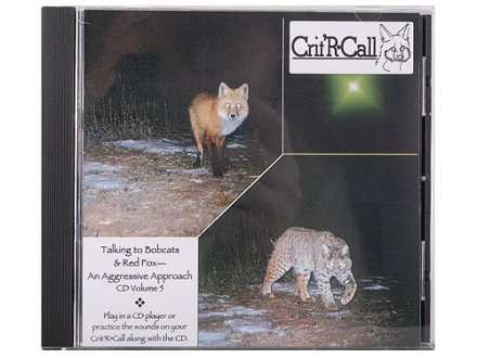 "Crit'R Call ""Volume 5: Talking to Bobcats & Red Fox, An Aggressive Approach"" Predator Calling Audio CD"
