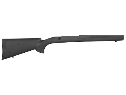 Hogue Rubber OverMolded Rifle Stock Ruger M77 Mark II Long Action Standard Full Bed Synthetic Black