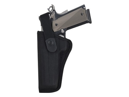 Bianchi 7000 AccuMold Sporting Holster Left Hand 1911 Government, Browning Hi-Power Nylon Black